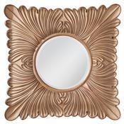 Medium Aged Wood Mirror