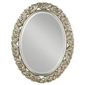 Antique Silver Leaf Mirror