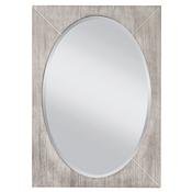 Seaside - White Wash/Gray Mirror