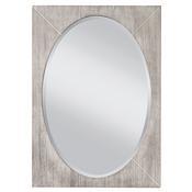 Seaside - White Wash/Gray Mirror
