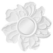 Peony - Hi Gloss White Mirror