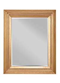 Tisdale - Dark Antique Gold Mirror