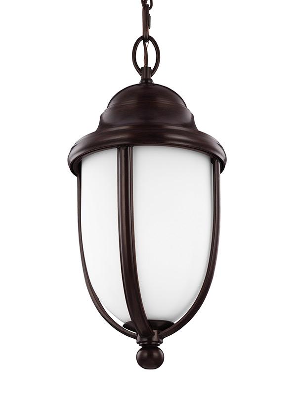 1 - Light Outdoor Hanging Heritage Bronze