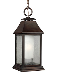 1 - Light Outdoor Pendant