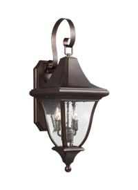 2 - Light Outdoor Wall Lantern