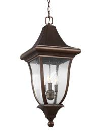 3 - Light Outdoor Pendant Lantern