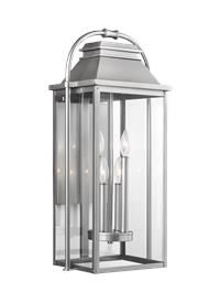 4 - Light Outdoor Wall Lantern