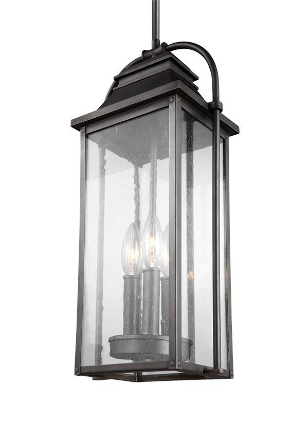 3 - Light Outdoor Pendant Lantern