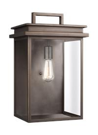 1 - Light Outdoor Wall Lantern