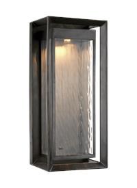 1 - Light Outdoor LED Wall Lantern