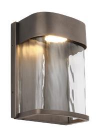 1 - Light LED Outdoor Wall Lantern