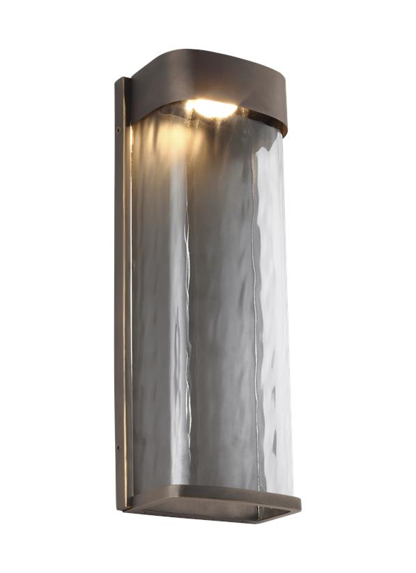 1 - Light LED Outdoor Wall Lantern