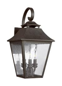 3 - Light Wall Lantern