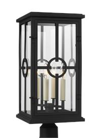 4 - Light Outdoor Post Lantern