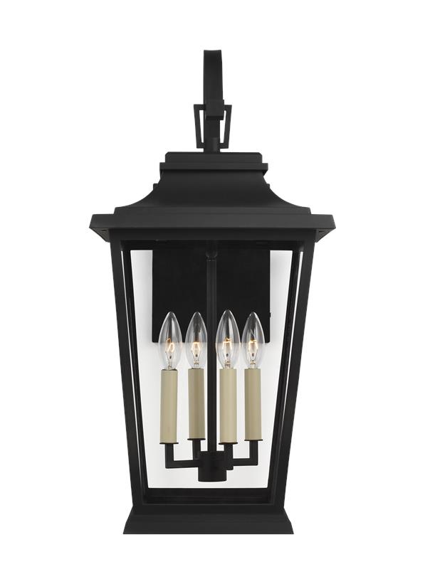 4 - Light Outdoor Wall Lantern