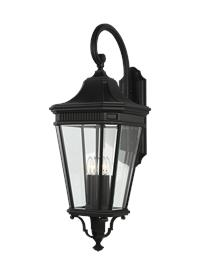 4 - Light Wall Lantern