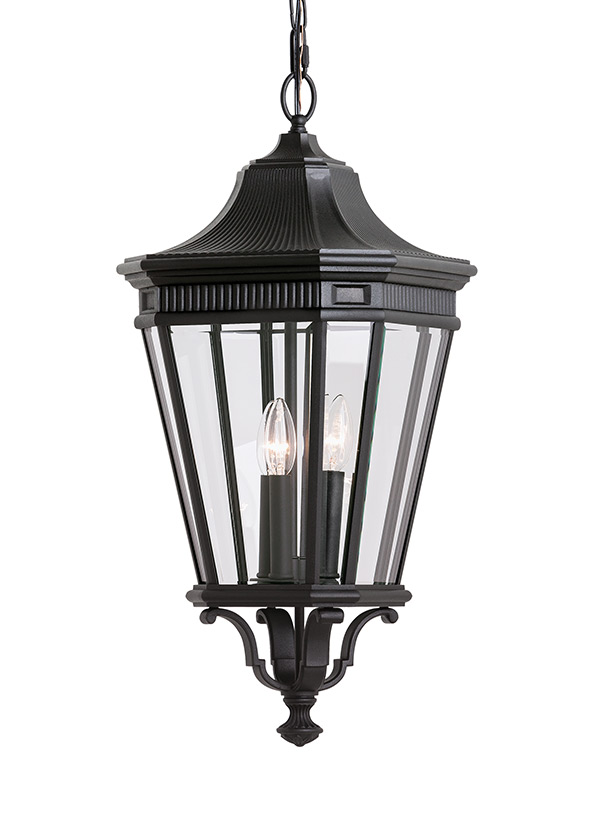3 - Light Outdoor Pendant
