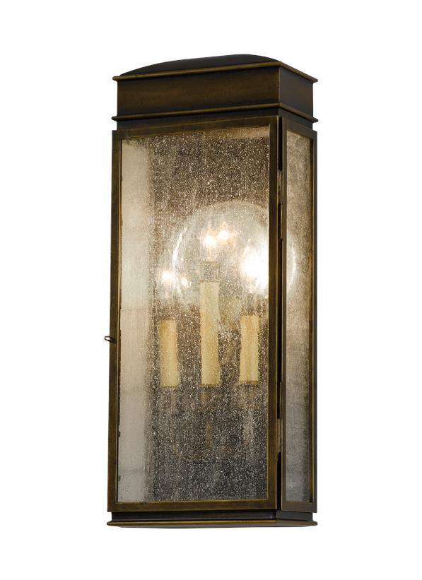 3 - Light Wall Lantern