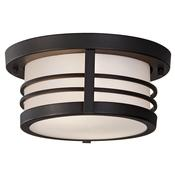 2-Light Outdoor Flush Mount