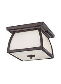 1 - Light Outdoor Flushmount