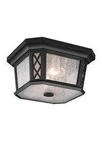 2 - Light Outdoor Flushmount