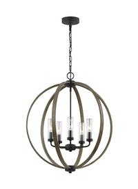 5 - Light Outdoor Chandelier