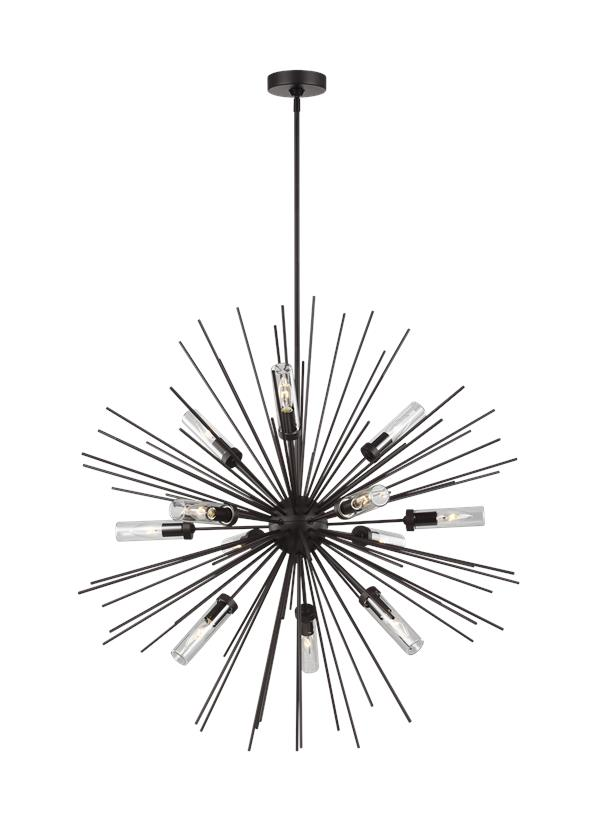 12 - Light Outdoor Chandelier