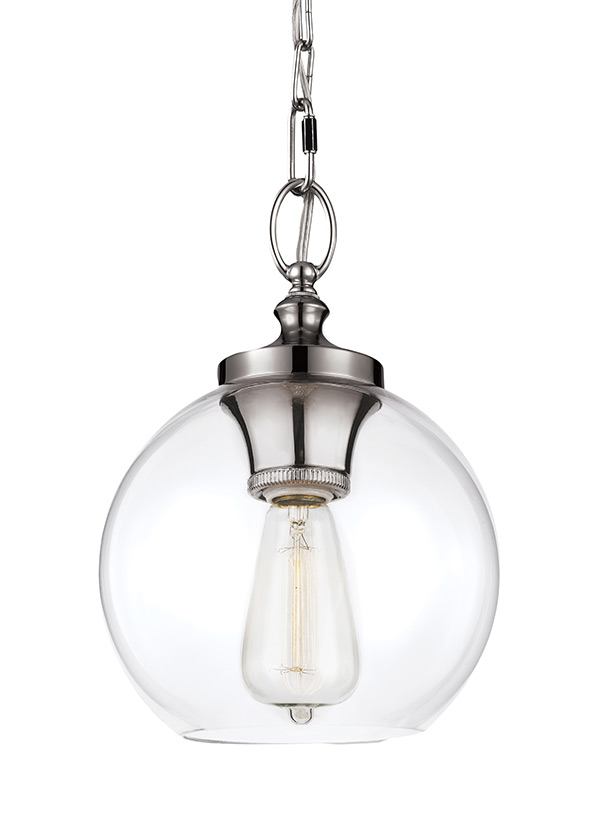 Clear Glass Mini Pendant