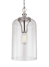 Clear Glass Pendant