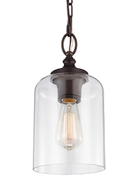 1 - Light Hounslow Mini Pendant