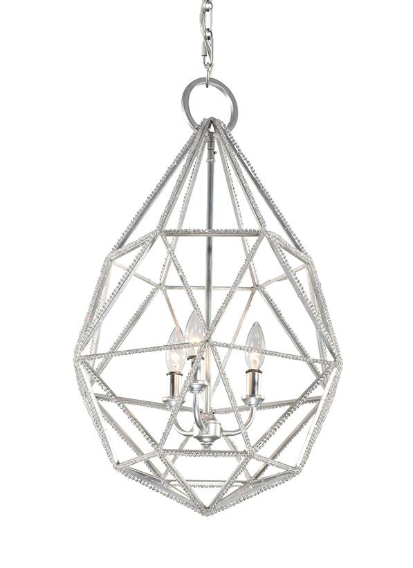 3 - Light Marquise Pendant