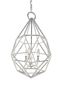 3 - Light Marquise Pendant