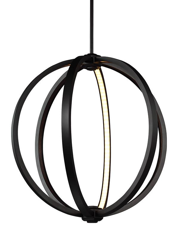 Medium LED Globe Pendant