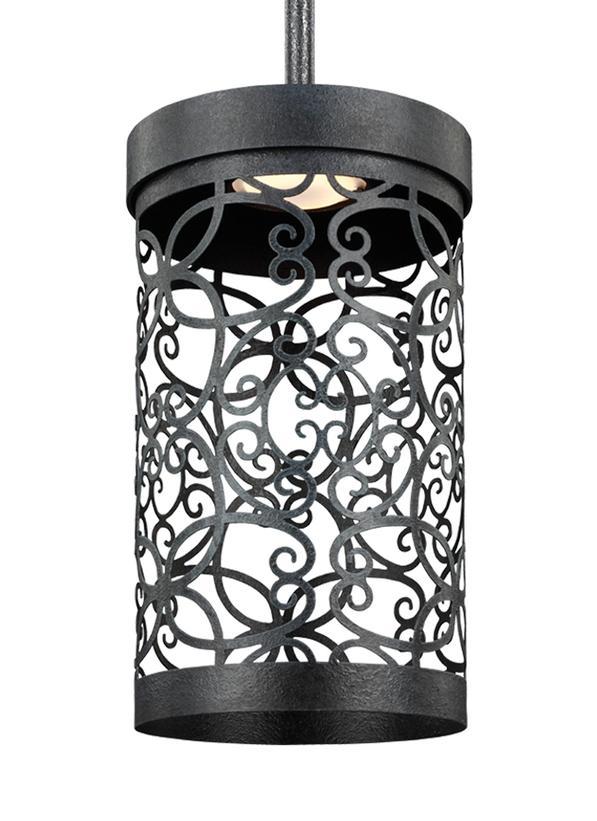 1 - Light Outdoor LED Mini-Pendant
