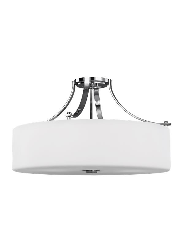 4 - Light Semi-Flush Mount