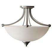 1-Light Semi Flush
