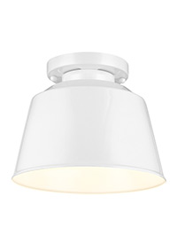 1 - Light Semi Flush Mount