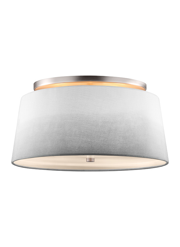 3 - Light Semi Flush