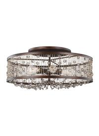 6 - Light Semi-Flush Mount