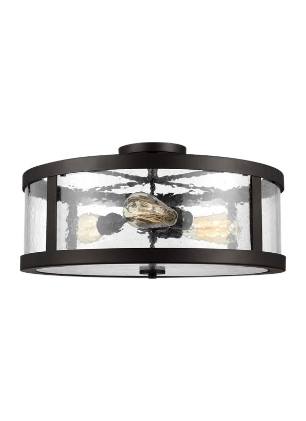 3 - Light Semi Flush Mount
