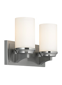 2 - Light Amalia Vanity Strip