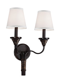 2 - Light Arbor Creek Wall Sconce