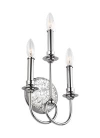 3 - Light Wall Sconce