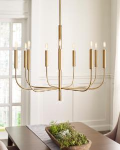 Brianna 9-Light Chandelier