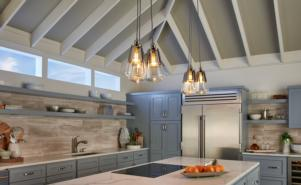 Waveform Pendant Kitchen