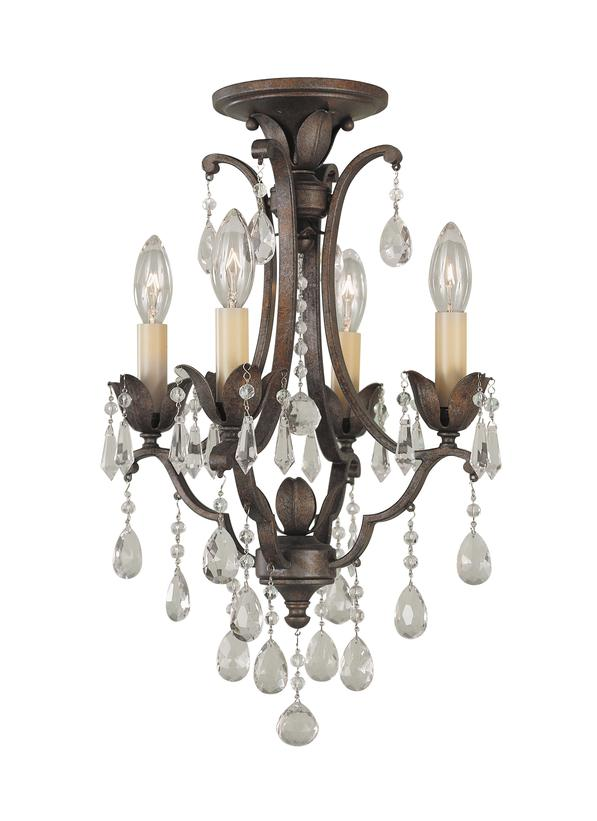 Flush mount mini chandeliers chandelier designs mini chandelier flush mount designs f1881 4brb 4 light mini duo chandelier british bronze mozeypictures Choice Image