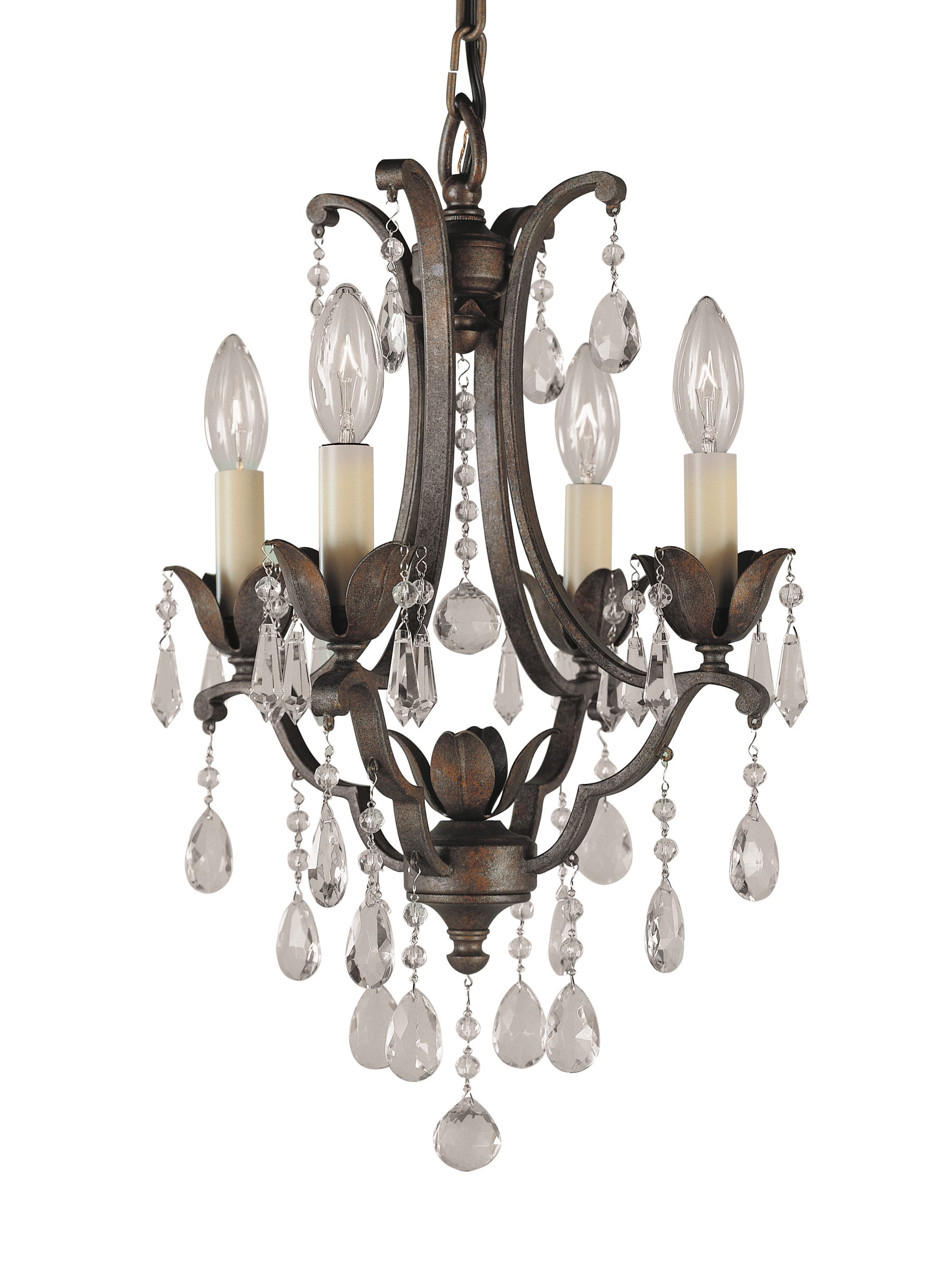 F18814brb4 light mini duo chandelierbritish bronze loading zoom mozeypictures Image collections