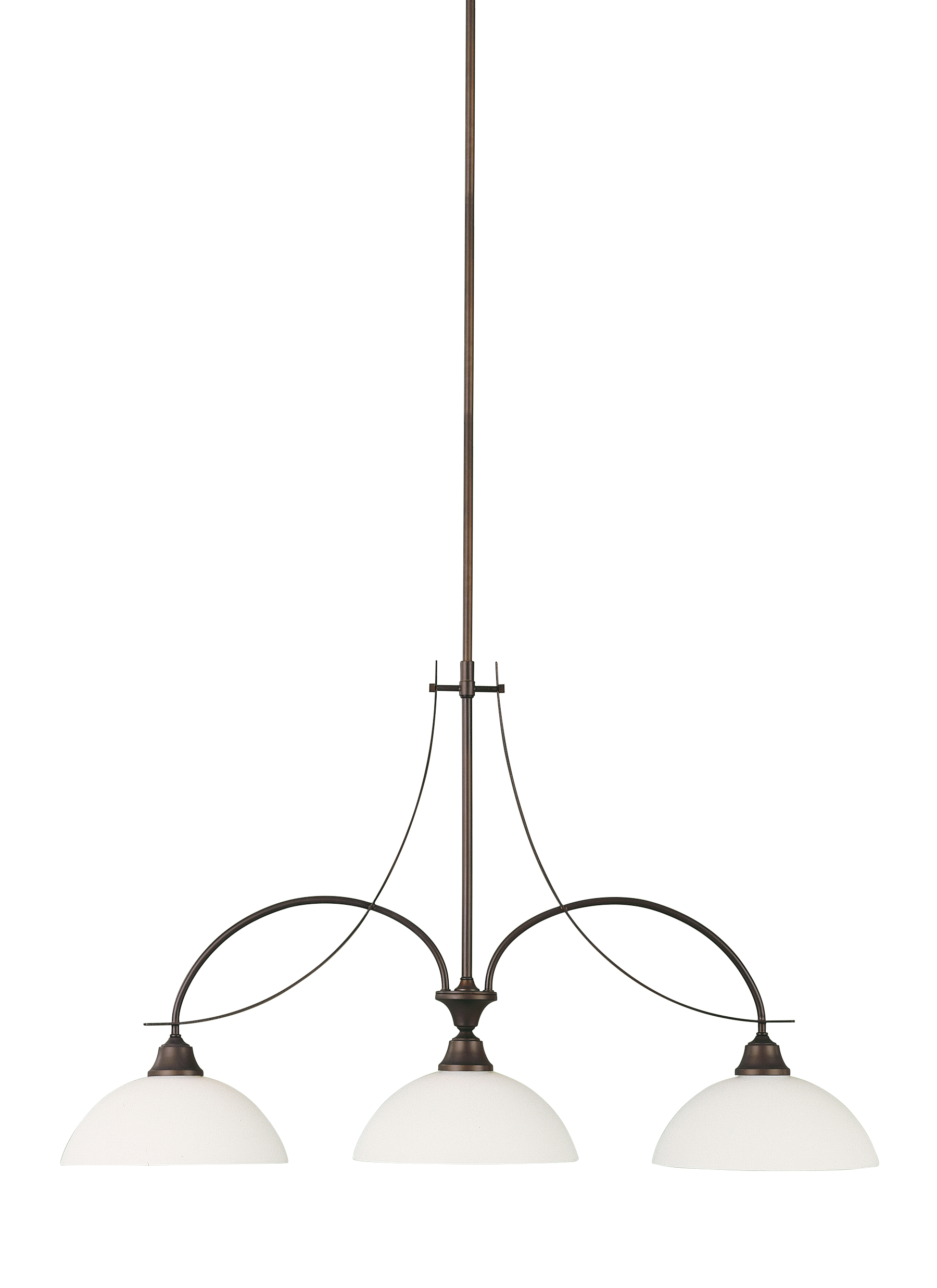 F1886 3ORB 3 Light Island Chandelier Oil Rubbed Bronze