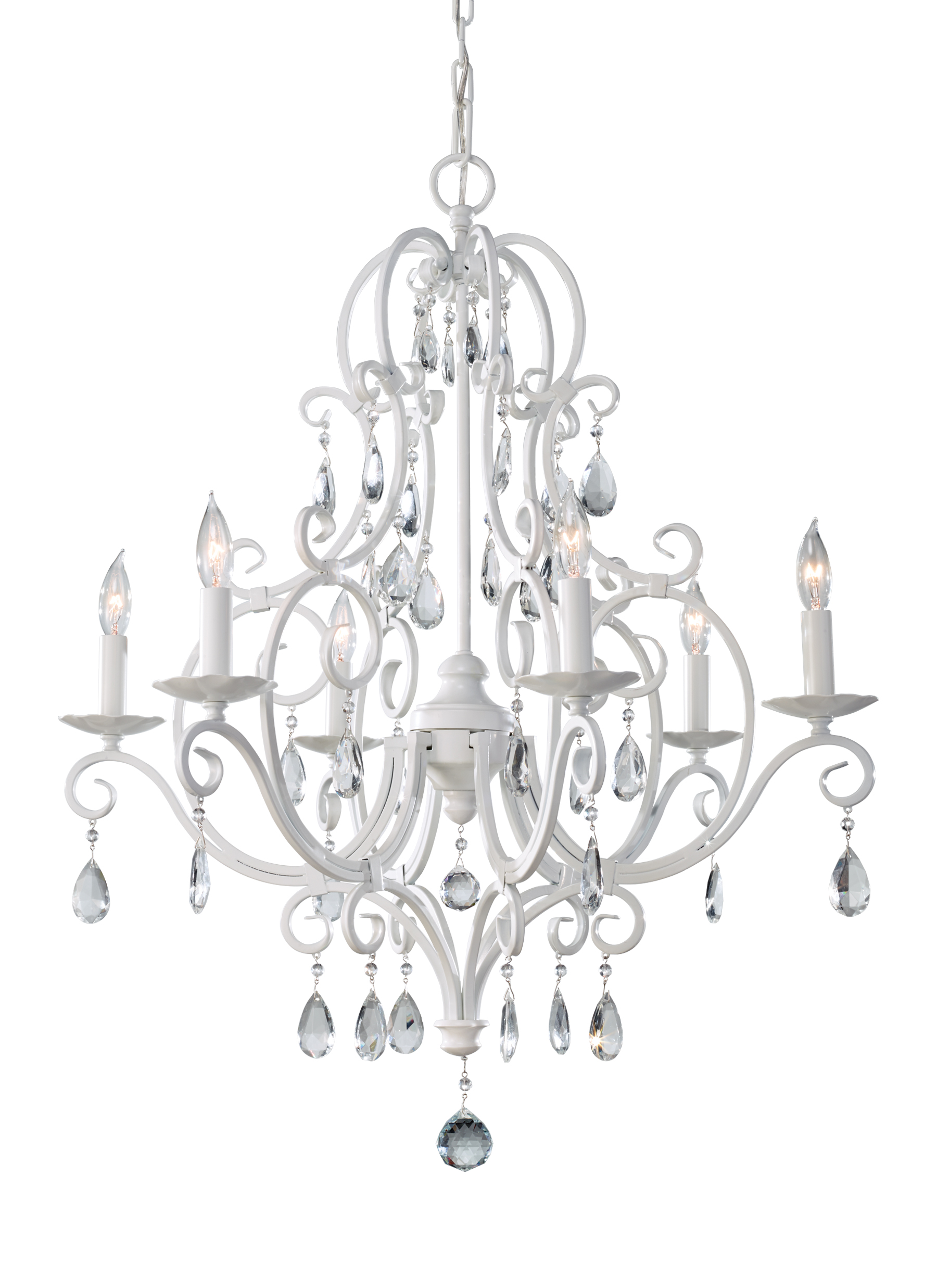 Feiss Chateau Blanc Collection traditional lighting