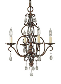Chateau from feiss chateau collection 4 light mini chandelier aloadofball Images